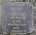 Stolperstein Bredowstr 49 (Moabi) Helene Behrendt.jpg