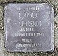 Stolperstein Bredowstr 49 (Moabi) Leopold Behrendt.jpg