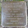 Stolperstein Goch Mühlenstraße 27 Clara Koppel.JPG