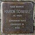 Stolperstein Heinrich-Roller-Str 10 (Prenz) Marion Schwarz.jpg
