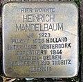 Stolperstein Kleve An der Münze 7-9 Heinrich Mandelbaum.jpg