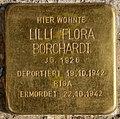 Stolperstein Pallasstr 12 (Schön) Lilli Flora Borchardt.jpg
