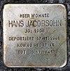 Stolperstein Peter-Hille-Str 79 (Frihg) Hans Jacobsohn.jpg