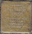 Stolperstein Remscheid Steinberger Straße 51 Regine Ring.jpg