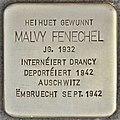 Stolperstein für Malvy Fenechel (Differdingen).jpg