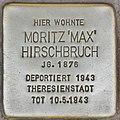 Stolperstein für Moritz Hirschbruch (Potsdam).jpg