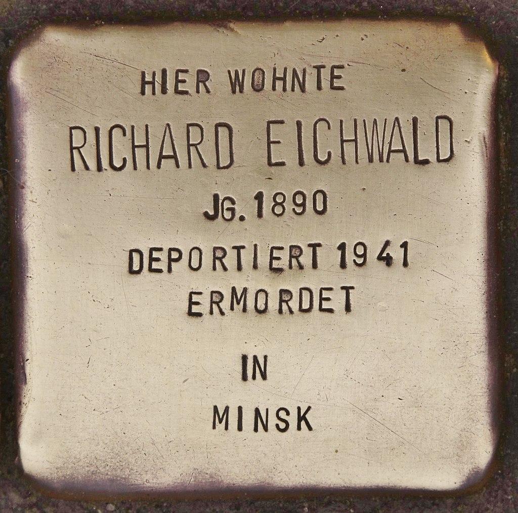 Stolperstein für Richard Eichwald (Kappeln).jpg