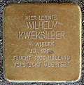 Stumbling stone for Wilhelm Kweksilber (Severinstrasse 241)