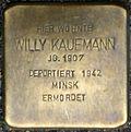 Stumbling block for Willy Kaufmann (Large Greek Market 75)