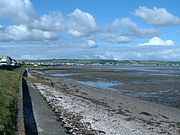 Stranraer & the shores of Loch Ryan, as seen from the North Eastern end of the town