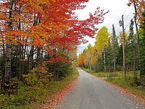 Maine - Autumn in Stratton