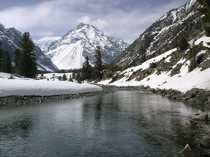 Mountains & Stream