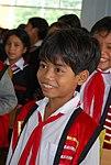 Students enjoy their new school (5686574470).jpg