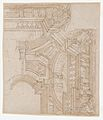 Studies for the trompe-l'oeil decorations of Palazzo Ducale (Palazzo Pitti), Florence MET DP870427.jpg