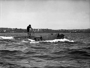 XE-class submarine - XE4 at Sydney, 1945