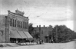 Summerville, Georgia - Hollis and Hinton store on Commerce Street, circa 1911