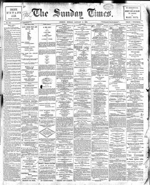 The Sunday Times (Sydney) - The Sunday Times, 6 January 1895