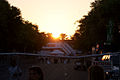 Sunrise over entry bridge GPSP 27March2011 (14697182804).jpg