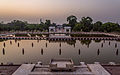 Sunset at Faiz Bakhsh Tarrace of Shalimar Gardens.jpg
