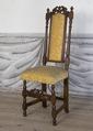 Svarvad stol, 1700 cirka - Skoklosters slott - 103857.tif