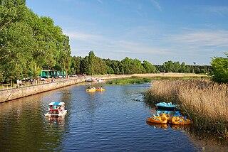 The river Sventoji at its mouth