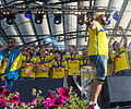 Sweden national under-21 football team celebrates in Kungsträdgården 2015-24.jpg