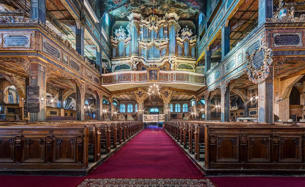 Eglise baroque de Swidnica en Silésie, Pologne - Photo de Jar.ciurus