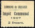 Switzerland Crissier 1907 revenue 2Fr - 3d.jpg
