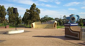 Marrickville Council - Sydenham Green, formerly the site of noise-affected homes