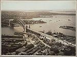Sydney Harbour Bridge from Dawes Point, 19 March, 1932 (6174052774).jpg