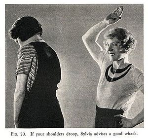 Sylvia of Hollywood - Sylvia of Hollywood (right) from page 67 of her best-selling book No More Alibis.(Photoplay Publishing Chicago, 1934), photographer uncredited