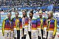 Synchro 3m springboard women's Delhi 2010.jpg