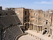 Roman theatre in Bosra.