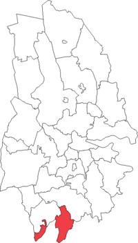 Hammars landskommune i Örebro amt