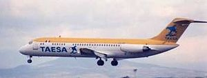 TAESA Flight 725 - XA-TKN, same type of the aircraft involved in the accident