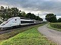 TGV Lyria Ligne ferroviaire Mâcon Ambérieu Route Prales Perrex 2.jpg