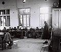 "THE MELAMED (TEACHER) AND HIS PUPILS IN THE HEDER AT KFAR MARMOREK. לימודי תורה ב""חדר"" בכפר מרמורק.D841-015.jpg"