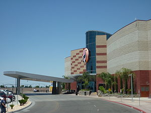 Tachi Palace - Main entrance of the casino