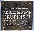 Tadeusz Krupiński memorial plate.jpg