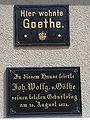 Tafel Goethe Ilmenau Löwe.JPG