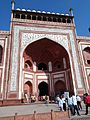Tajmahal entrance gate Mausoleum in Agra.jpg