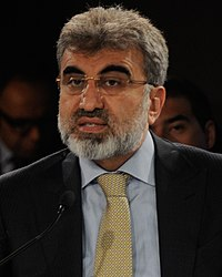 Taner Yildiz - World Economic Forum on the Middle East, North Africa and Eurasia 2012 crop.jpg