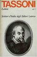 Tassoni, Alessandro – Lettere, Vol. I, 1978 – BEIC 1936183.pdf