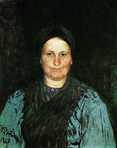 Портрет Татьяны Степановны Репиной. 1867