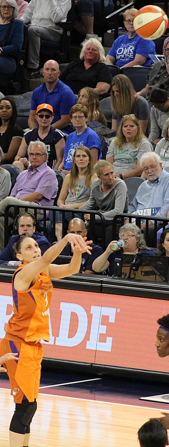 Diana Taurasi - Taurasi became the WNBA's all-time highest scorer in 2017.