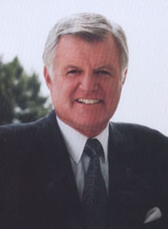 Ted Kennedy - Kennedy's official Senate portrait in the 1990s