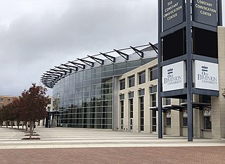 Ted Constant Convocation Center building in Norfolk, Virginia, United States