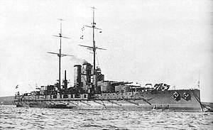 SMS Tegetthoff.