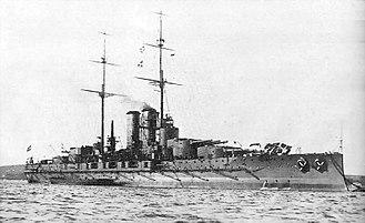 Dreadnought - Austro-Hungarian battleship Tegetthoff