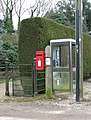 Telephone and postbox - geograph.org.uk - 1744464.jpg